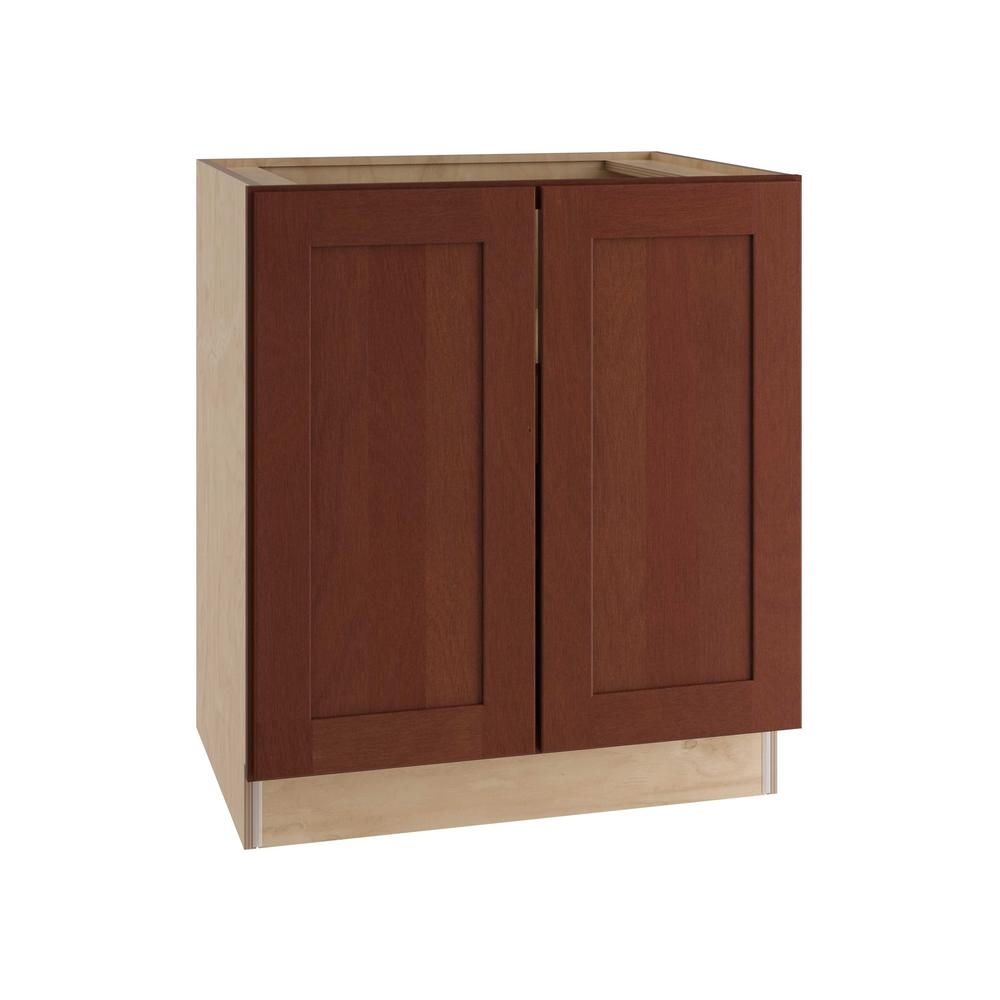 Home decorators collection kingsbridge assembled 36x34 for Assembled kitchen cabinets