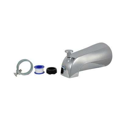 Diverter Tub Spout in Chrome