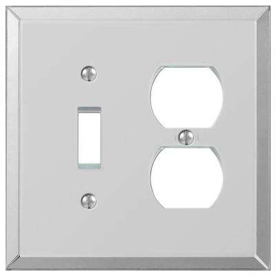 Acrylic Mirror 1 Toggle 1 Duplex Wall Plate