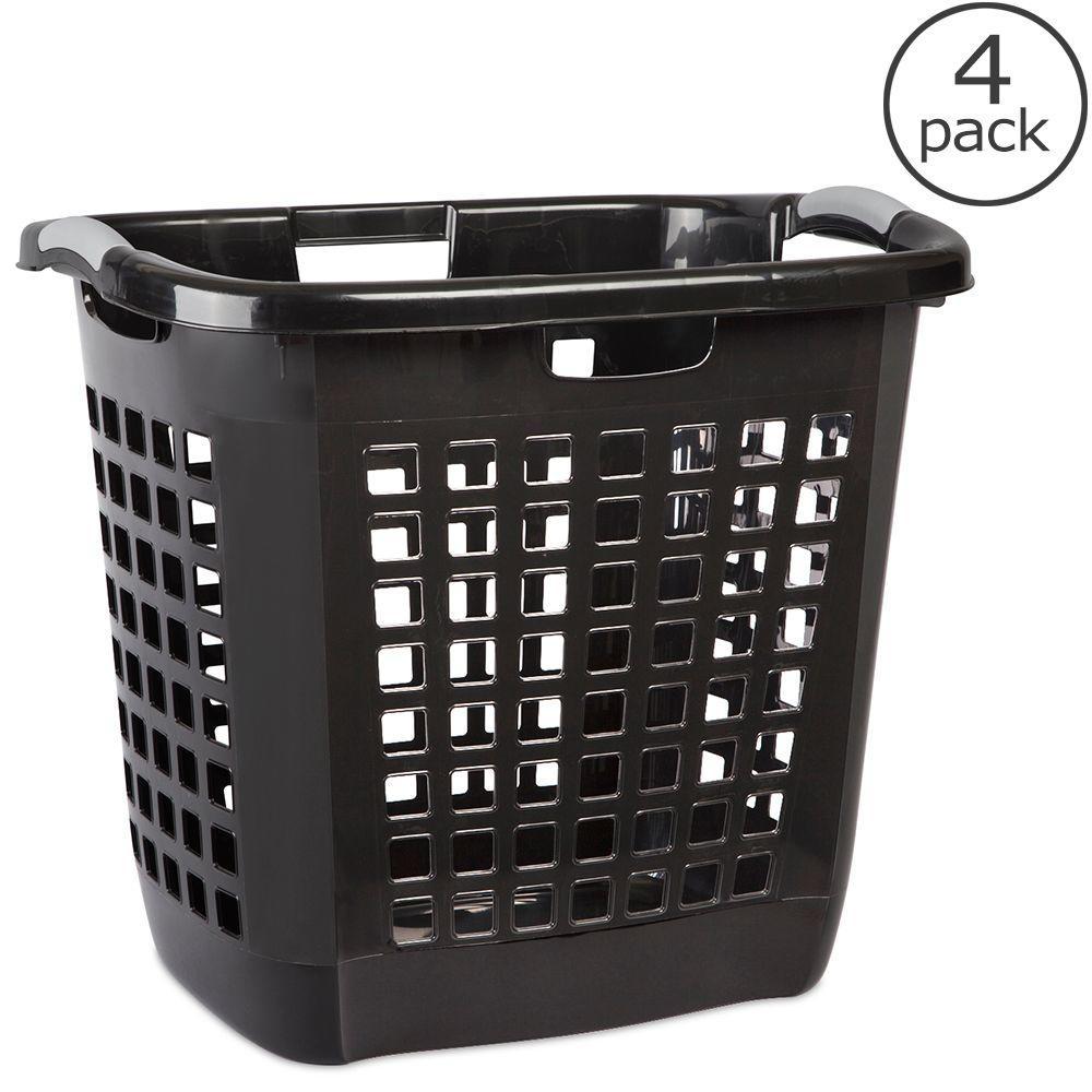 Sterilite Ultra Easy Carry Laundry Hamper (4-Pack)