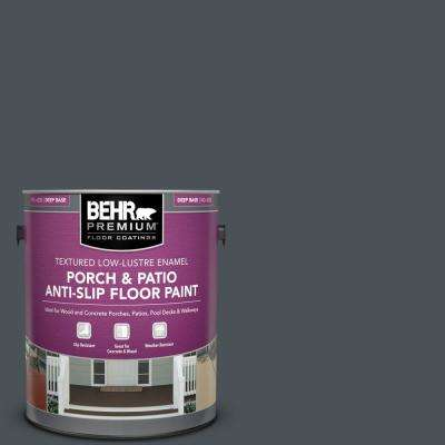 1 gal. #PPU25-22 Chimney Textured Low-Lustre Enamel Interior/Exterior Porch and Patio Anti-Slip Floor Paint