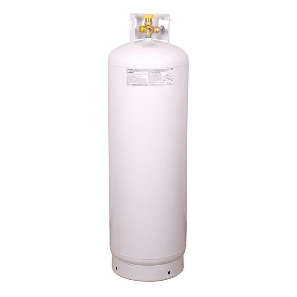 100 lb. Empty Steel Propane Cylinder with Multi-Valve