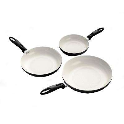 8 in. Professional Aluminum Frying Pan with Ceramic Non-Stick Coating