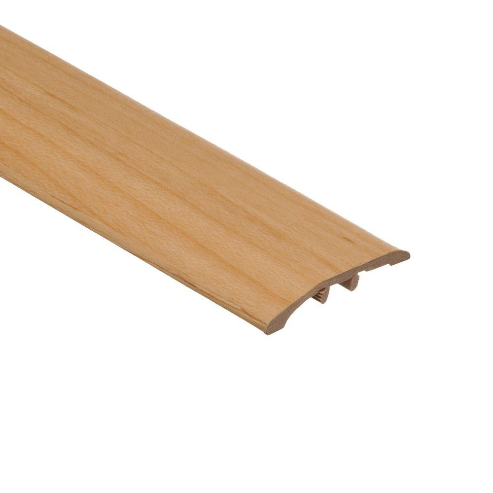 Zamma Blond Maple 5/16 in. Thick x 1-3/4 in. Wide x 72 in. Length Vinyl Multi-Purpose Reducer Molding