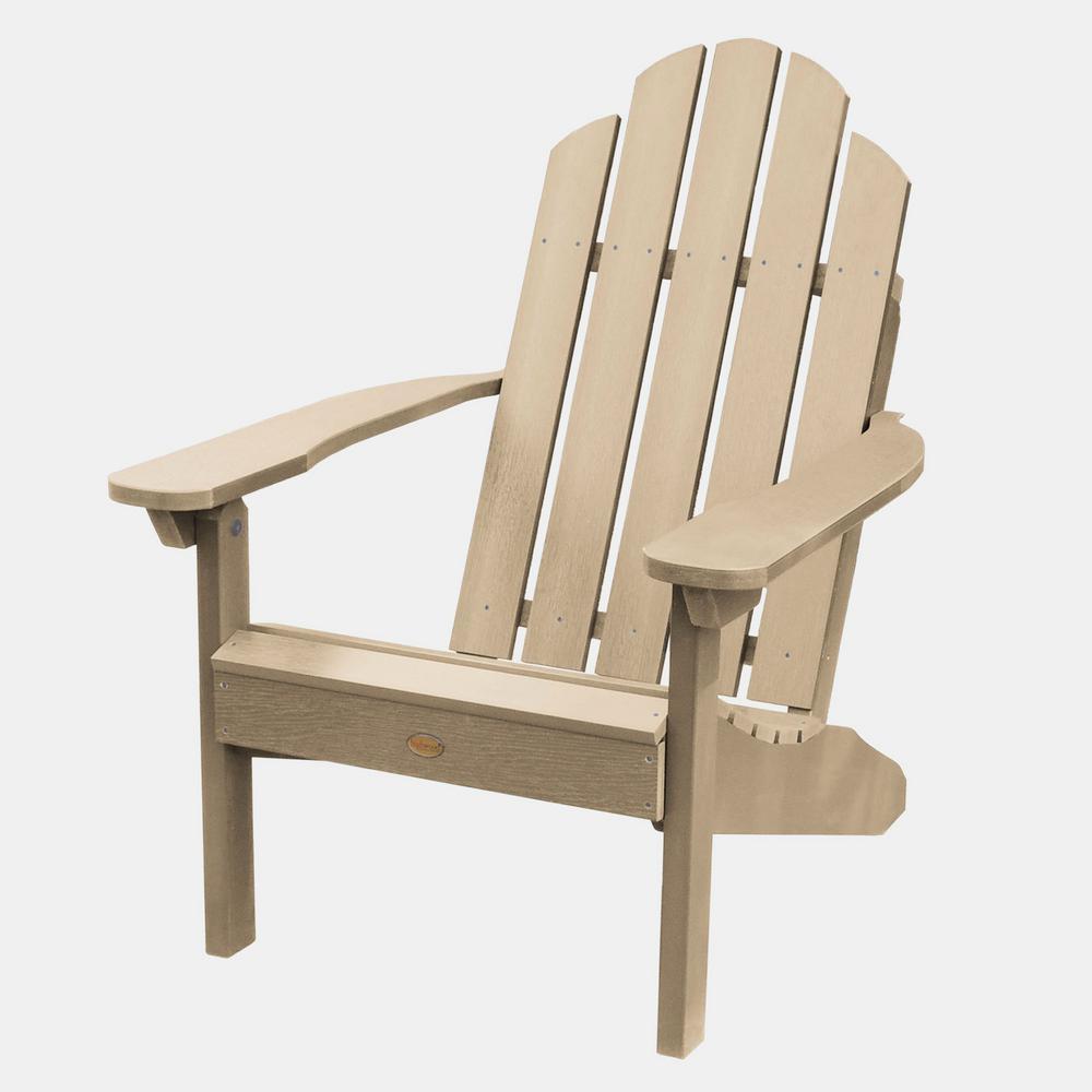 Classic Westport Tuscan Taupe Plastic Adirondack Chair