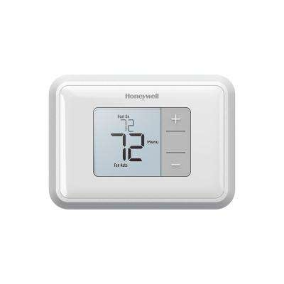 Backlit Display Non Programmable Thermostat
