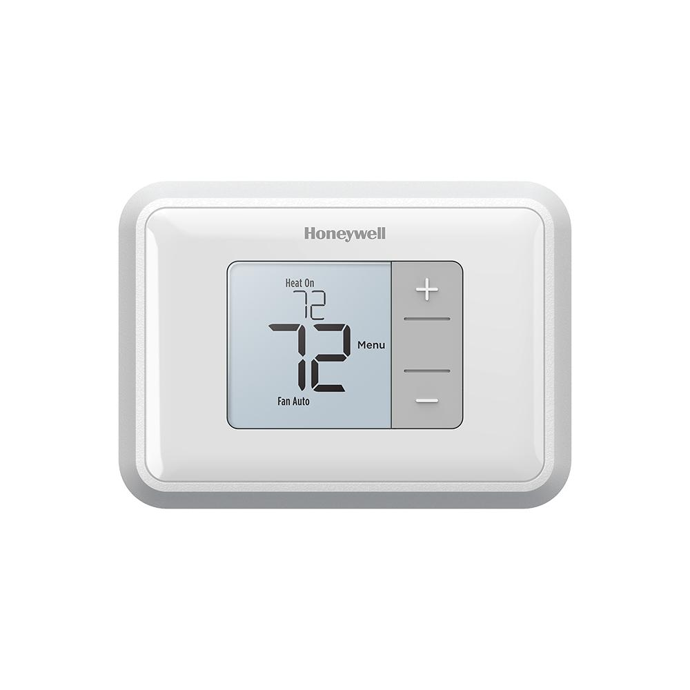 Honeywell Z Wave 7 Day Touchscreen Thermostat With Wiresaver General Wiring Backlit Display Non Programmable