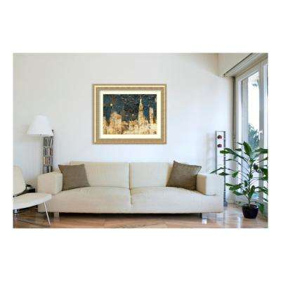 H Night Life By Edward Selkirk Printed Framed