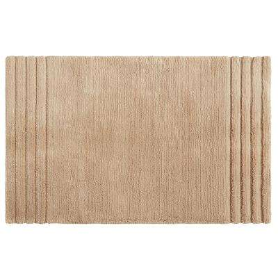 Empress 30 in. x 50 in. Cotton Bath Mat in Barley
