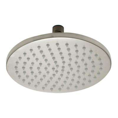 1-Spray 8 in. Fixed Showerhead with LED Lighting in Brushed Nickel