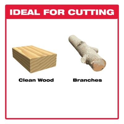 12 in. Carbide Pruning and Clean Wood Cutting Reciprocating Saw Blade (2-Pack)