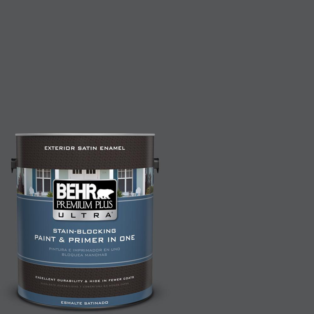 1 gal. #PPU24-22 Shadow Mountain Satin Enamel Exterior Paint
