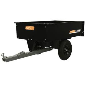 AllFitHD 12 cu. ft. Steel Swivel Dump Cart by AllFitHD