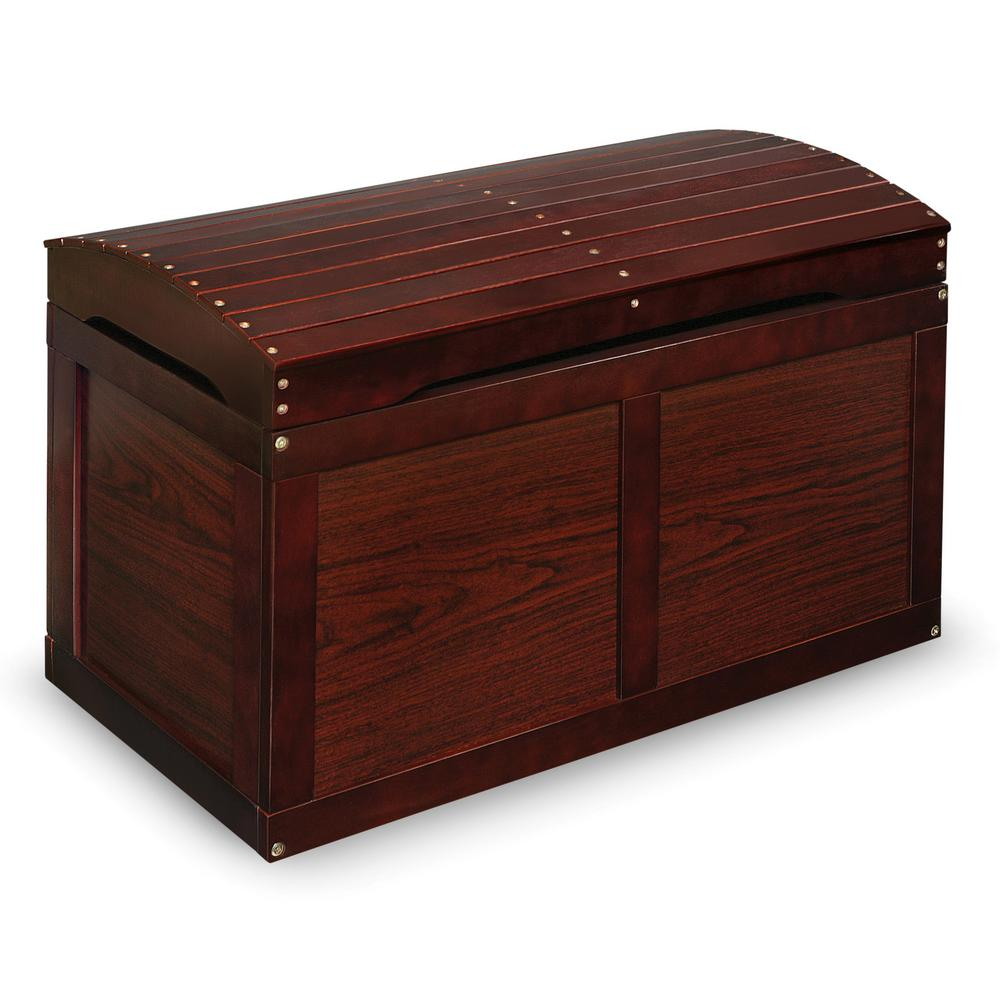 Cherry Barrel Top Toy Chest Trunk