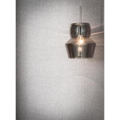 Linen Textures Light Grey Paper Strippable Roll (Covers 57 sq. ft.)