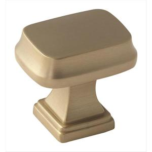 Revitalize 1-1/4 in (32 mm) Length Golden Champagne Cabinet Knob
