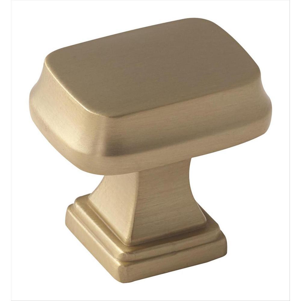 Revitalize 1-1/4 in (32 mm) Length Golden Champagne Cabinet Knob