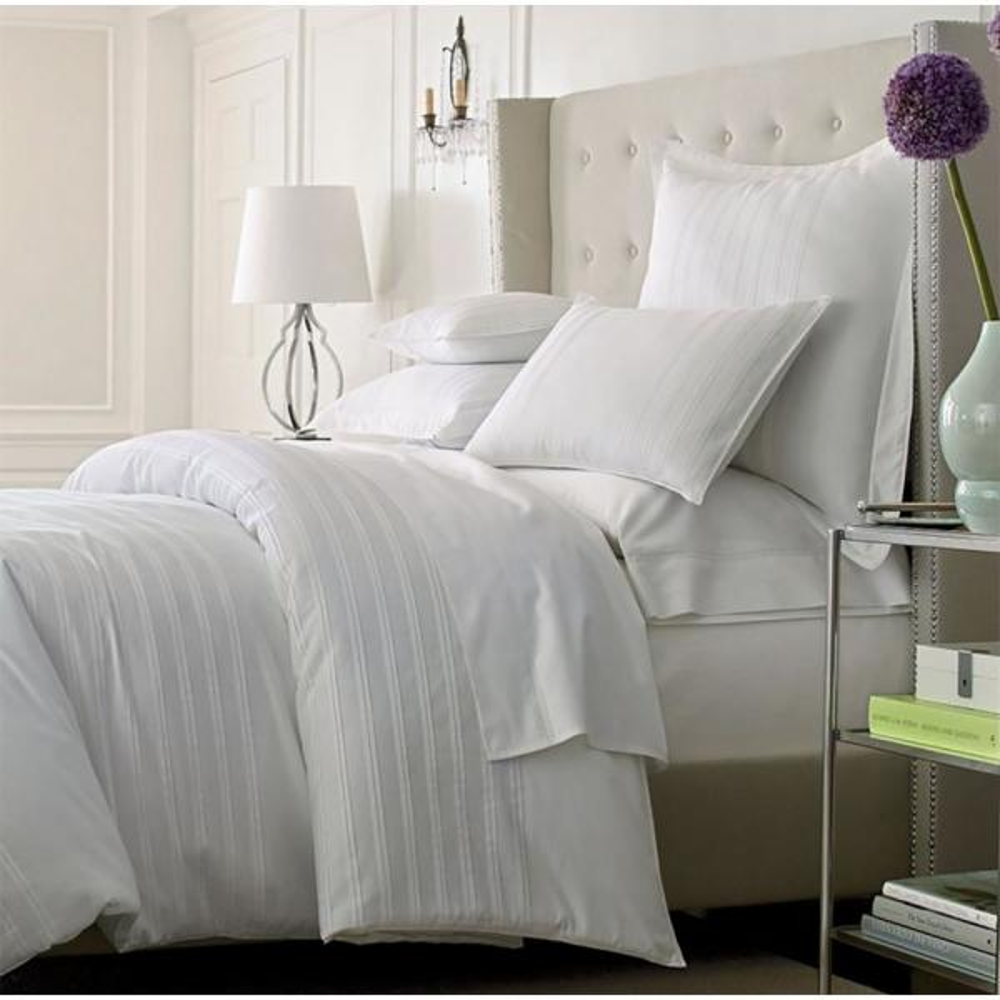 800 Thread Count BOUTIQUE Pure 100/% Egyptian Cotton Bedding White /& Cream