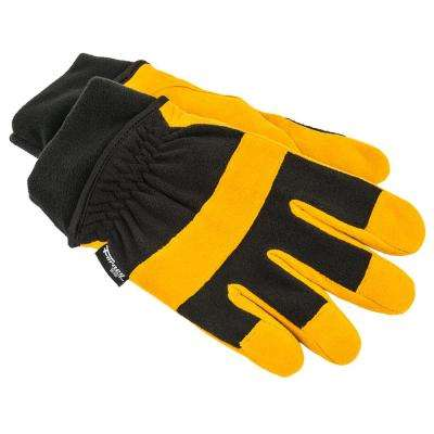 Lined Deerskin Utility Gloves (Size Large)