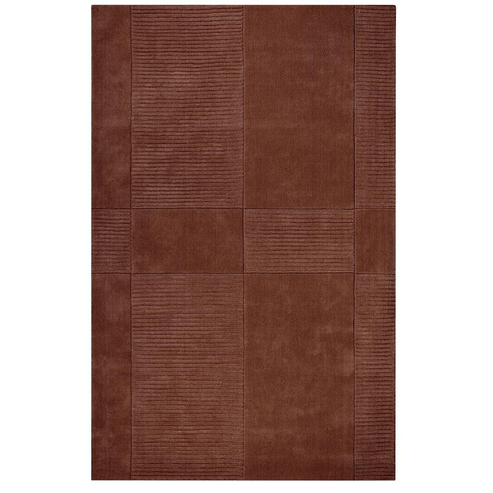 Home Decorators Collection Mesa Brown 9 ft. 6 in. x 13 ft. 9 in. Area Rug