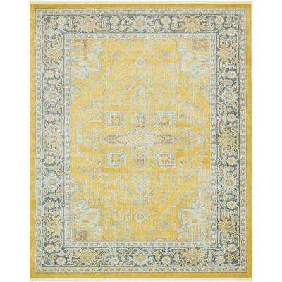 Baracoa Prado Yellow 8' 4 x 10' 0 Area Rug