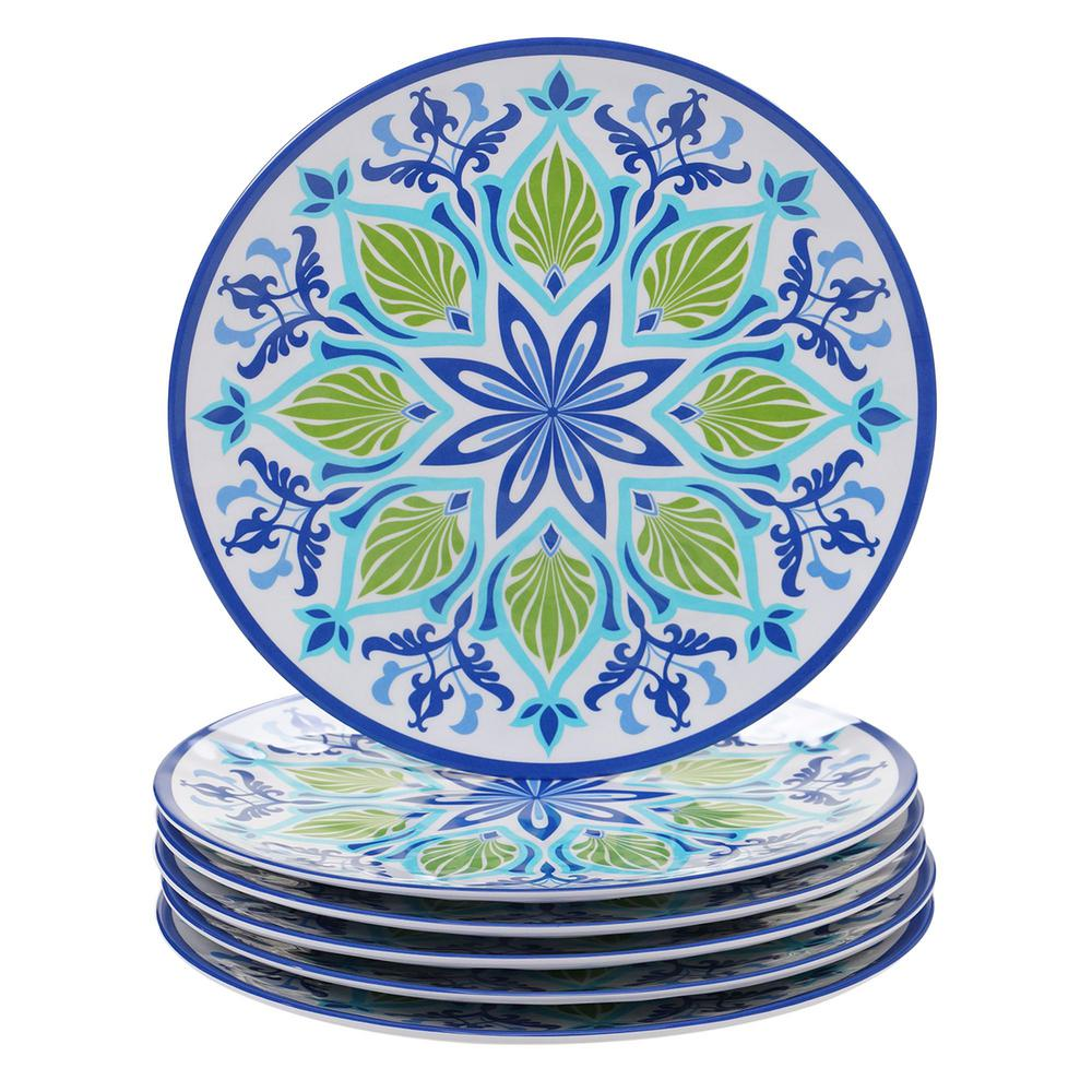 Morocco Multicolor Dinner Plate (Set of 6)