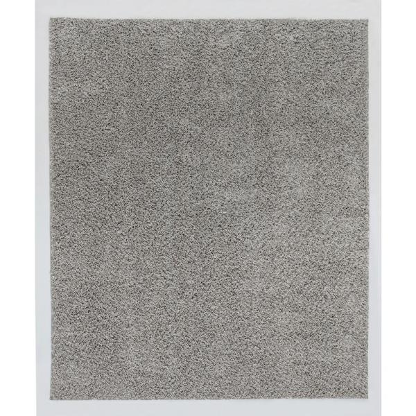 Engineered Floors Kennedy Shag Silver Stripe 8 Ft X 10 Ft Area Rug Hr106 098 8x10 The Home Depot