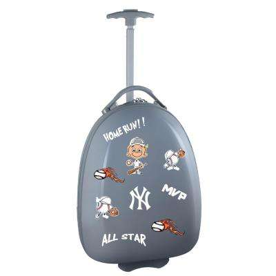 MLB New York Yankees Gray 18 in. Kids Pod Luggage