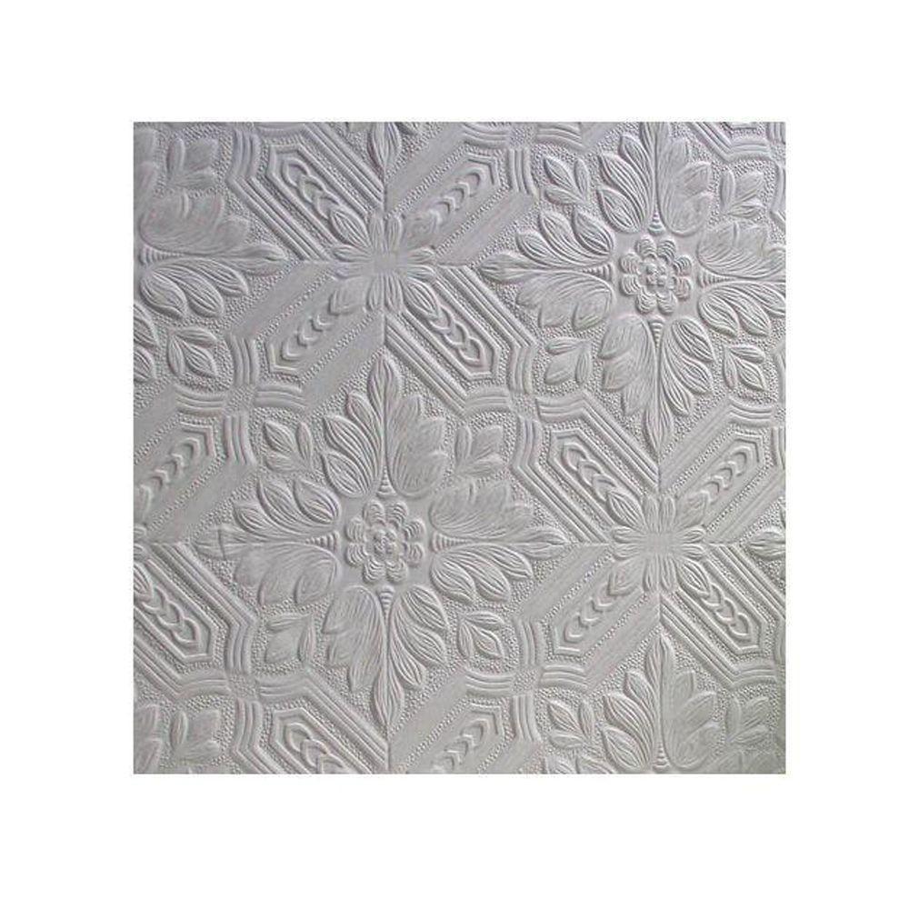 Howard Paintable Supaglypta Vinyl Strippable Wallpaper (Covers 56.4 sq. ft.)