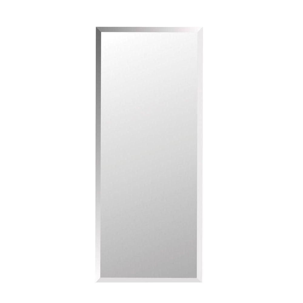 Horizon 16 in. W x 36 in. H x 4-1/2 in. D Frameless Recessed 3-Shelf Bathroom Medicine Cabinet with Beveled Edge
