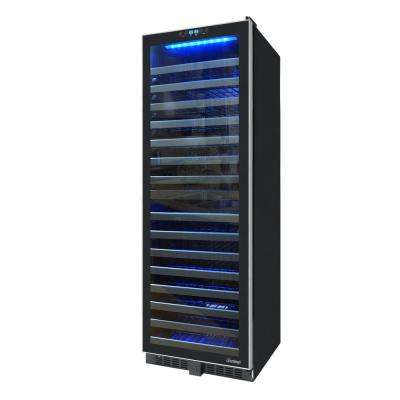 142 Bottle Dual-Zone Wine Cooler with Glide