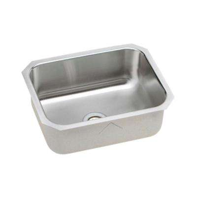 Signature Plus Undermount Stainless Steel 24 in. Single Bowl Kitchen Sink