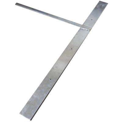Hammam 48 in. x 20 in. Stainless Steel Lavatory Support
