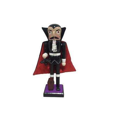 10 in. Dracula Nutcracker with Bat