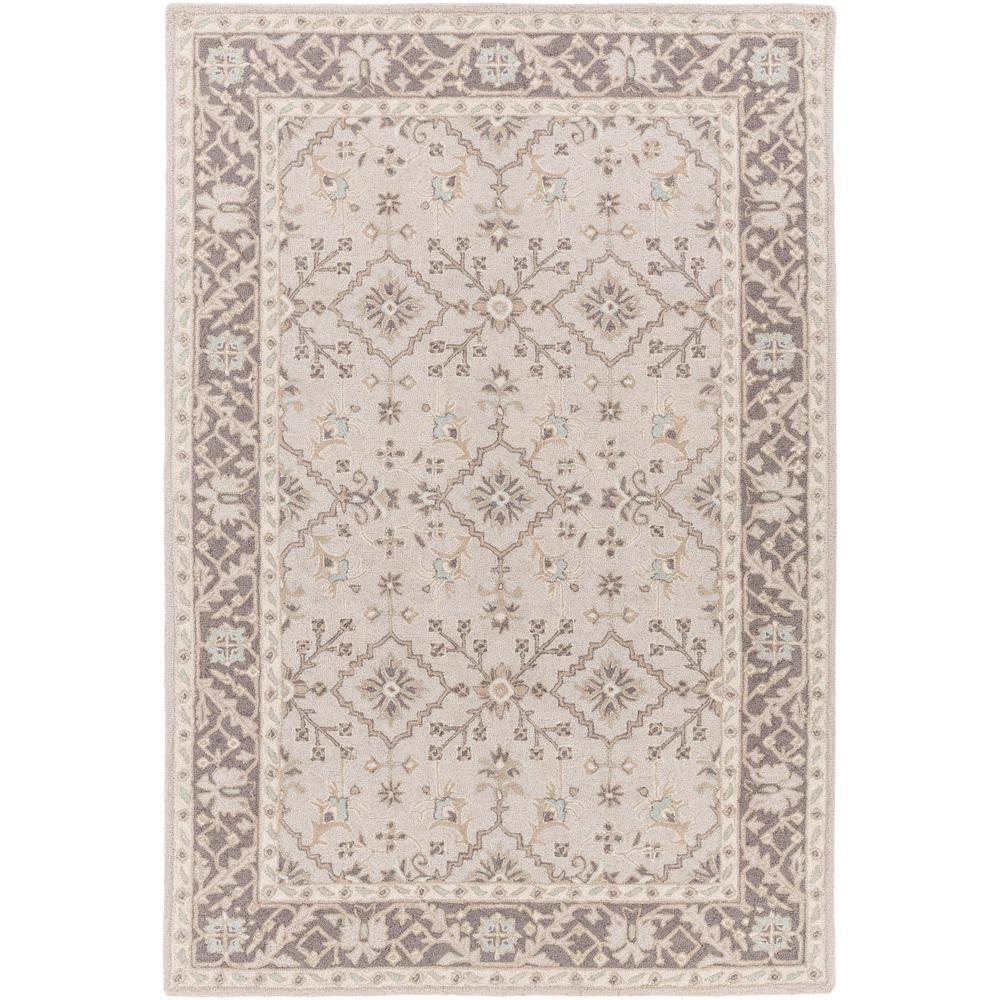 Perthios Taupe 8 ft. x 10 ft. Indoor Area Rug