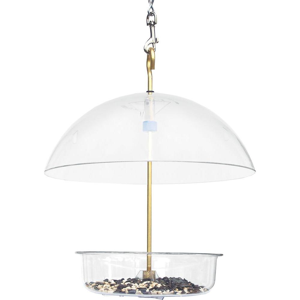 10 in. Seed Saver Multi-Use Dish Bird Feeder