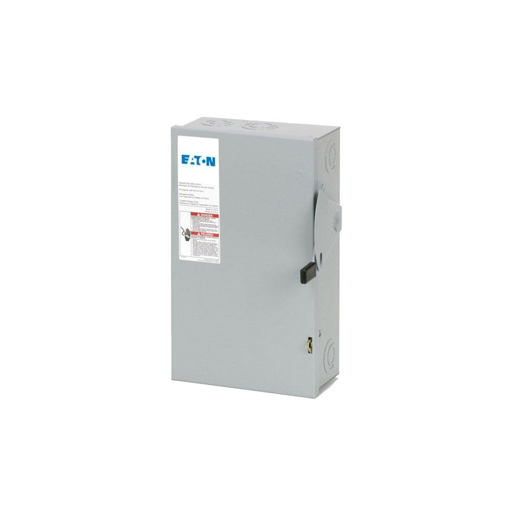 eaton 200 amp double pole fusible nema 3r general duty safety switch rh homedepot com