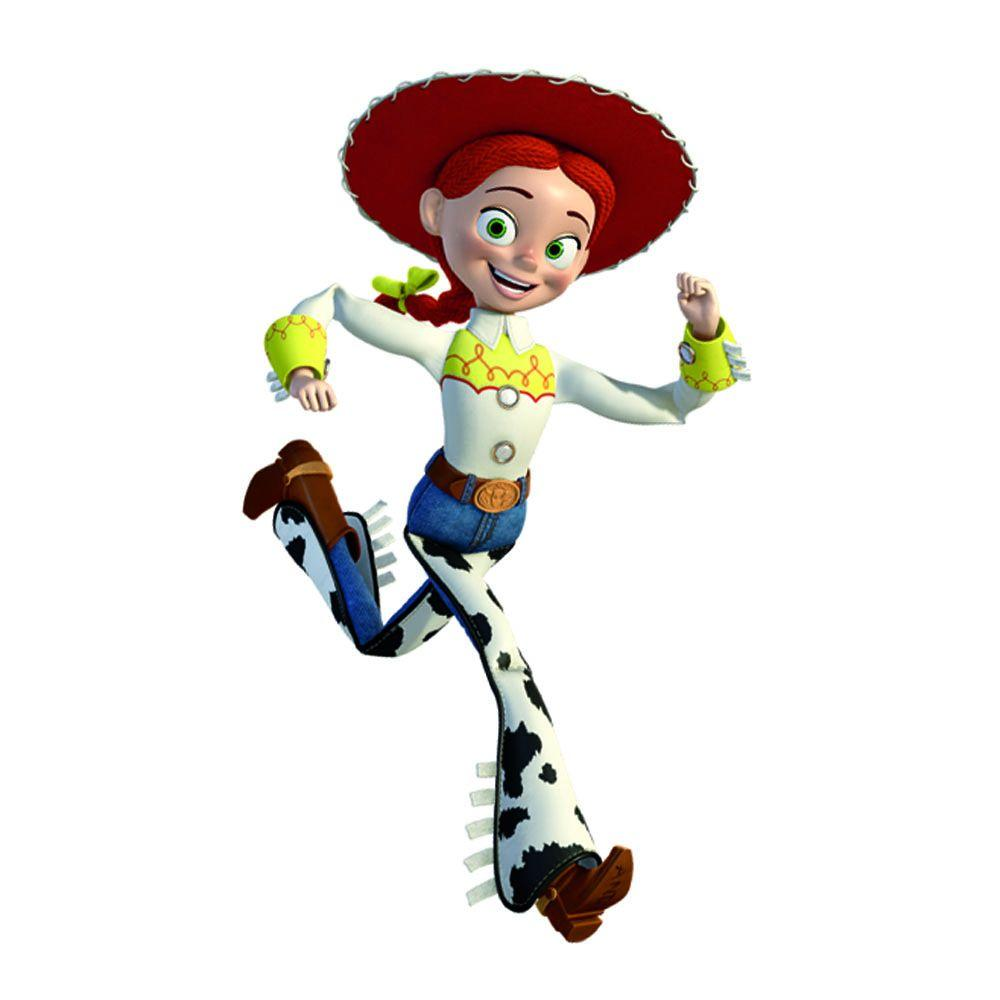 RoomMates 5 in. x 19 in. Toy Story Jessie Peel and Stick Giant Wall Decals (16-Piece)