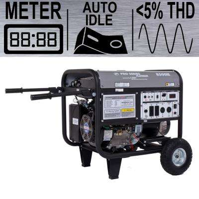 Platinum Series 7,500-Watt Gasoline Powered Electric Start Portable Generator with CARB