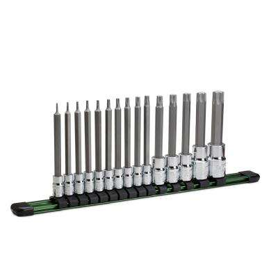 Long Star Bit Socket Set (15-Piece)