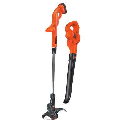 20-Volt MAX Lithium-Ion Cordless String Trimmer and Sweeper Combo Kit (2-Tool) with 1.5Ah Battery and Charger Included