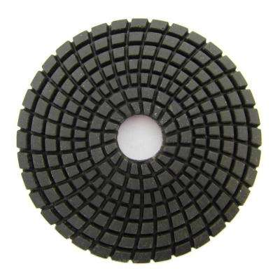 4 in. #50 Grit Wet Diamond Polishing Pad for Stone