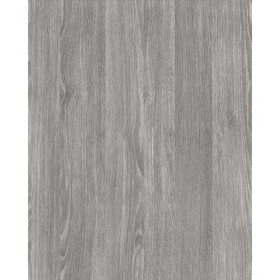 Oak Sheffield Pearl Grey 17 in. x 78 in. Home Decor Self Adhesive Film (2-Pack)