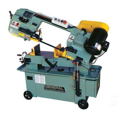 9 Amp 12 in. Industrial Metal Cutting Band Saw with Mobile Base and Coolant Pump