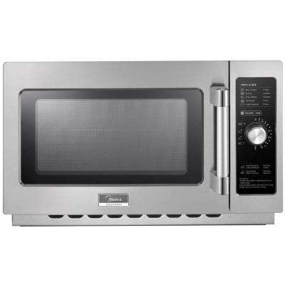 1.2 cu. ft. 1000-Watt Commercial Counter Top Microwave Oven in Stainless Steel Interior and Exterior