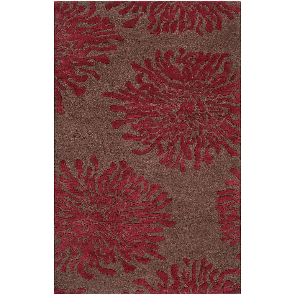 Artistic Weavers Delano Chocolate 3 ft. 3 in. x 5 ft. 3 in. Area Rug