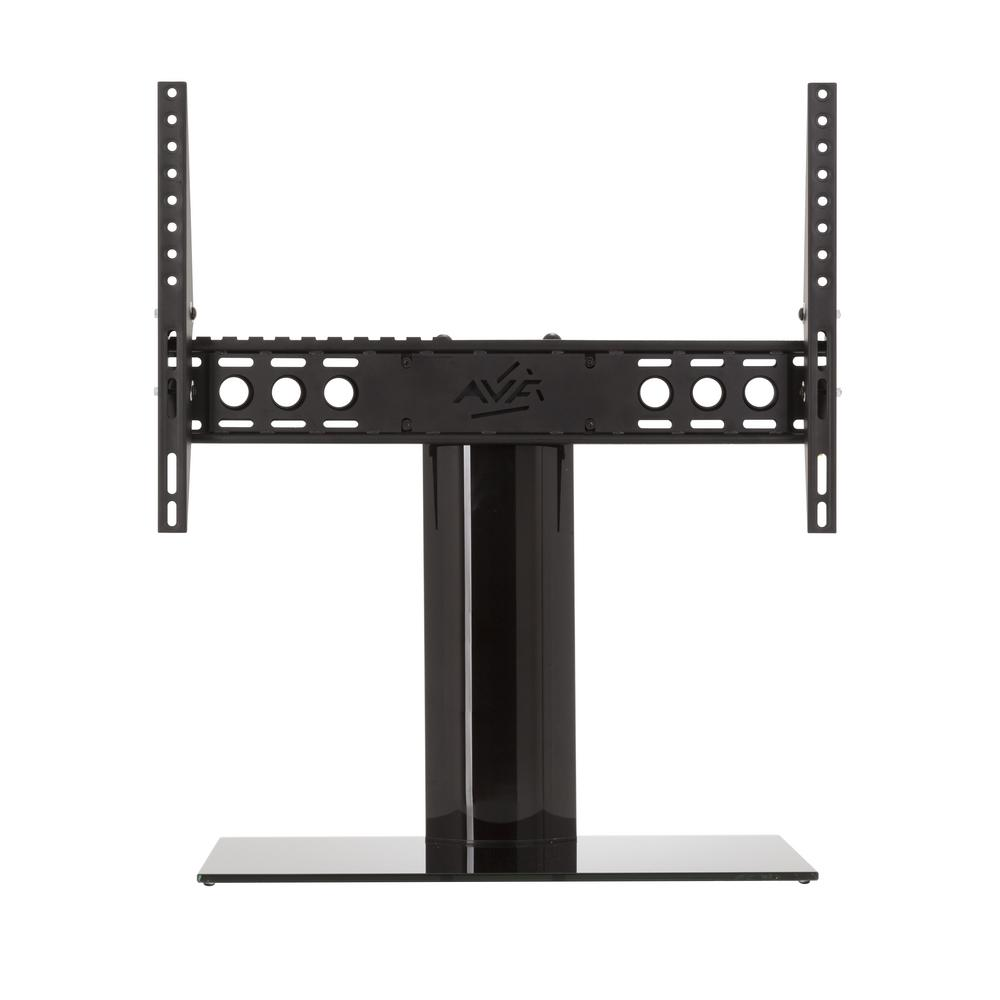 avf universal table top tv stand base adjustable tilt for