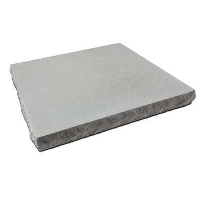 2.25 in. x 30 in. x 30 in. Indiana Limestone Concrete Chiseled Wall Cap (2-Pack)