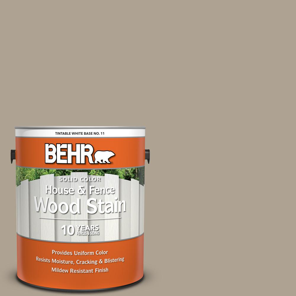 Behr 1 Gal 730d 4 Garden Wall Solid Color House And Fence
