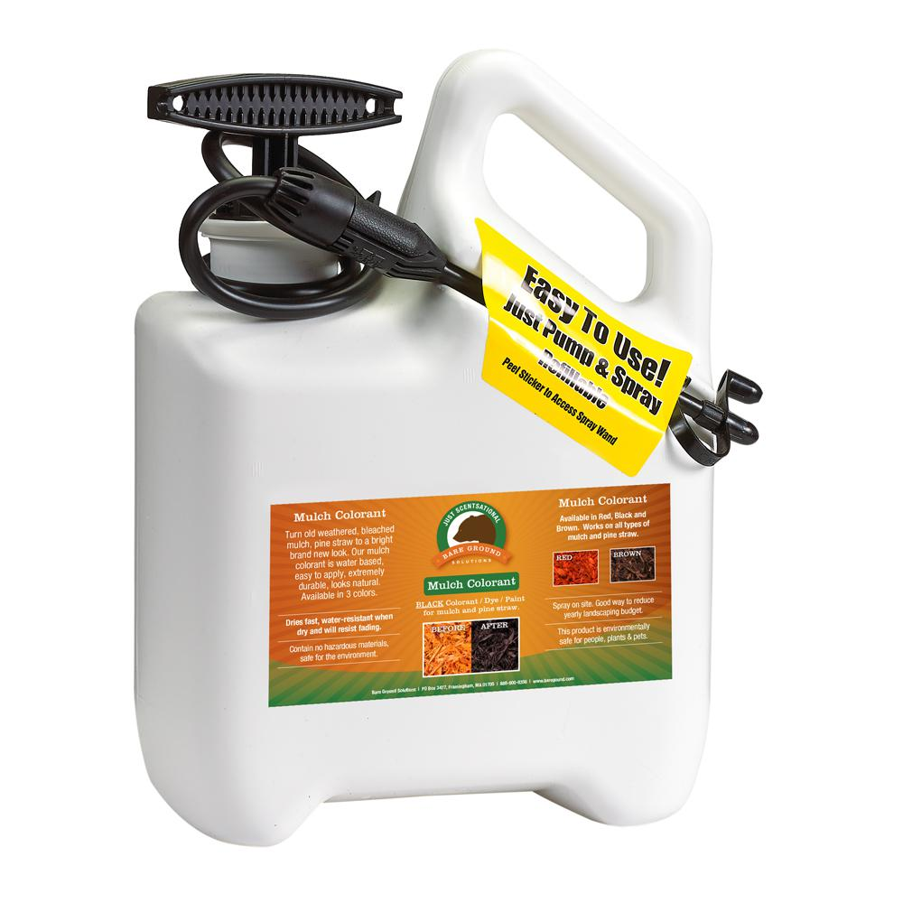 Just Scentsational 1 Gal Sprayer Pre Loaded With Brown Bark Mulch Colorant